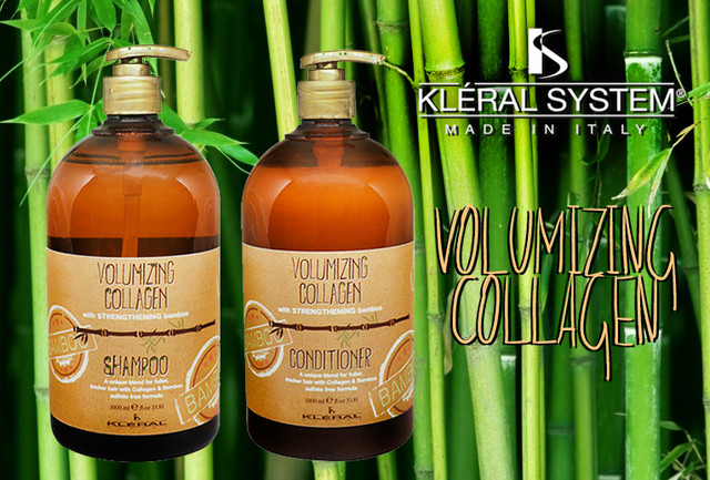 Volumizing Collagen Бессульфатная серия для объема с коллагеном и экстрактом бамбука