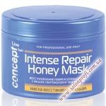 Concept Маска восстанавливающая с мёдом для сухих и повреждённых волос